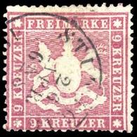 1861, Altdeutschland Württemberg, 19 Ya, Gest. - Wuerttemberg