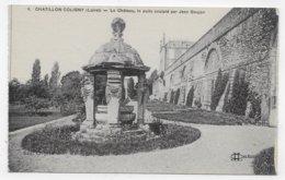 CHATILLON COLIGNY - N° 4 - LE CHATEAU - PUITS SCULPTE PAR JEAN GOUJON - CPA NON VOYAGEE - Chatillon Coligny