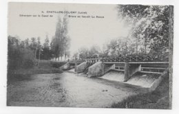 CHATILLON COLIGNY - N° 5 - DEVERSOIR SUR LE CANAL DE BRIARE AU LIEU DIT LA RONCE - CPA NON VOYAGEE - Chatillon Coligny