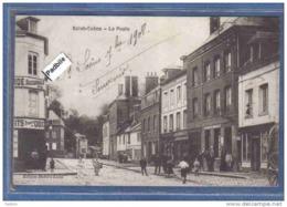 Carte Postale 76. Saint Saëns  La Poste  Trés Beau Plan - Saint Saens