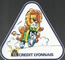 2 Autocollants Crédit Lyonnais - Autocollants