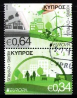 CYPRUS 2016 - Set Used From Booklet - Chypre (République)