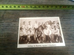 1932 1933 M EQUIPE DE FOOTBALL COLLEGE DE BAYEUX - Vieux Papiers