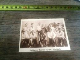 1932 1933 M EQUIPE DE FOOTBALL COLLEGE DE BAYEUX - Collections