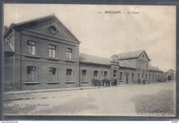 Carte Postale 59. Hallluin La Gare  Trés Beau Plan - Autres Communes