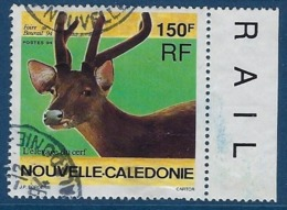 "Nle-Caledonie YT 664 "" Elevage Du Cerf "" 1994 Oblitéré - Neukaledonien"