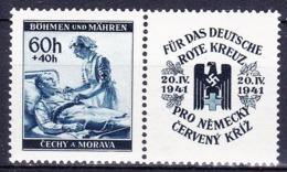 Boheme Et Moravie 1941 Mi 62 (Yv 61), (MNH)** - Bohême & Moravie