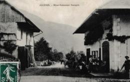 74   ALLEVES  :  HOTEL - RESTAURANT  BEAUQUIS  . - France