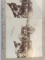 Romans Sur Isère (26 Drôme) Bourg De Péage. Cavalcade 1908 Char Des Pompiers Ballon Mongolfière - Stereoscopic