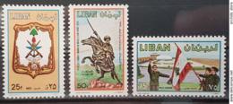 LC- 1980 Army Day & Mir Fakhreddine Complete Set 3v. MNH - Lebanon