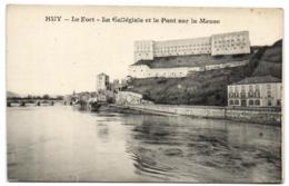 Huy - Le Fort - La Collégiale Et Le Pont Sur La Meuse - Hoei