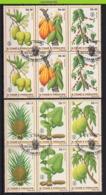 Nff017 FLORA VRUCHTEN ANANAS CACAO FRUIT FRÜCHTE FRUITS S. TOMÉ E PRÍNCIPE 1981 Gebr/used - Fruit