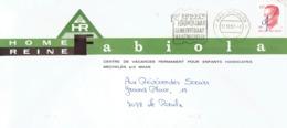 Flamme 100 Jaar Gemeenteraad Maasmechelen Sur Lettre Du Home Reine Fabiola Du 17/12/1987 - Postmark Collection