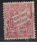 TUNISIE               N°     YVERT   TAXE   31       OBLITERE       ( Ob  5/42 ) - Tunisia (1888-1955)
