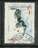 2006 Yt 3865 (o) Nouvel An Chinois Année Du Chien - France