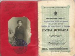 Kingdom Of Serbs Croats And Slovenes 1922.  Passport Pasaporte Passeport Passaporto Passaporte - Documents Historiques