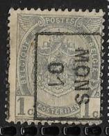 Mons 1901  Nr. 361Bzz - Precancels