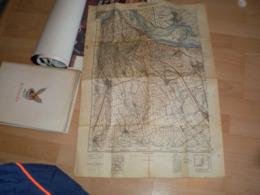 Old Map Sremski Karlovci Big Format - Cartes Géographiques