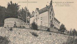 CPA 88 (Vosges)  LA SCHLUTCH ET LE HONNECK / L' HÔTEL DE L'ALTENBERG / SUR LE VERSANT ALSACIEN - Gerardmer