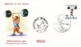 Fdc Roma: PESISTICA 1980 No Viaggiata - FDC