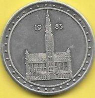 100 MICHEL 1983 BRUXELLES NOTRE CAPITALE - Gemeentepenningen