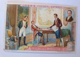 Liebig, Berühmte Kaufleute, Napoleon Verlangt Von Ouvrard Eine Anleihe ♥  - Kaufmanns- Und Zigarettenbilder