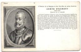 Comte D'Egmont - Martyre De La Liberté - Personnages Historiques