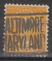 USA Precancel Vorausentwertung Preo, Locals Maryland, Baltimore 642-L-11 HS - Vereinigte Staaten
