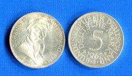 All  2  Pieces  De  5  Mark - 5 Mark