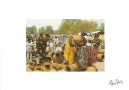 Tchad Chad Bongor - Le Négoce Des Canaris C. 1994 - Tsjaad