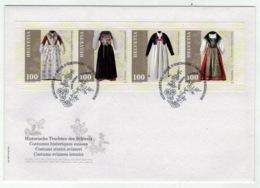 Suisse /Schweiz/Svizzera/Switzerland // FDC // 2019 // Costumes Historiques Suisses, Lettre 1er Jour - FDC