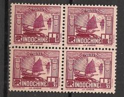 Indochine - 1931 - N°Yv. 151 - Jonque 1/5c - Bloc De 4 - Neuf Luxe ** / MNH / Postfrisch - Neufs