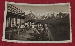 74 - Au Mont D'Arbois - Terrasse Du Chalet Idéal Sport Et Le Mont Blanc ::::: Animation  -------------- 505 - Saint-Gervais-les-Bains