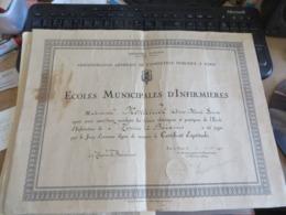 à Voir Des Diplomes Et Des Documents Autres ,vends Le Lot - Diplomi E Pagelle