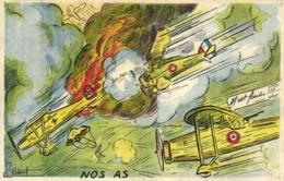 Illustrateur G Petret NOS AS  RV - 1939-1945: 2a Guerra