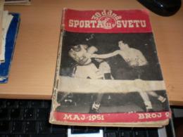 30 Dana Sporta U Svetu 1951 Box 64 Pages - Unclassified