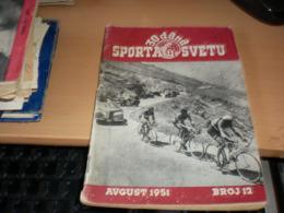 30 Dana Sporta U Svetu 1951 Cycling 64 Pages - Unclassified