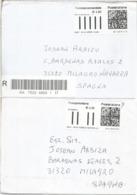 ITALIA 2 CC CON SELLOS ELECTRONICOS ATM ELECTRONIC LABEL QR CODE - 6. 1946-.. República