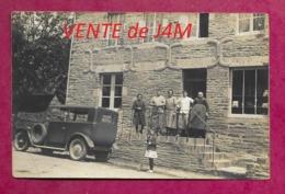 14/ CALVADOS...Carte Postale Photo De BERNIERES Le PATRY...BOULANGERIE à Côté De L'Eglise - Altri Comuni