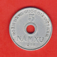 Vietnam 5 Xu, 1958 - Viêt-Nam