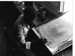 Photo Haute Volta 1980. Création Matériel Pédagogique Pour Les Villages. Photo Du Père Gust Beeckmans - Africa
