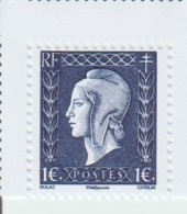 4986 Marianne De Dulac (682) 4987 Marianne De Gandon (725) 4988 Alsacienne Et Lorrainne (739) - Unused Stamps