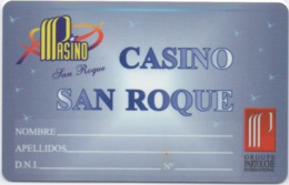 Carte Casino Partouche San Roque : Cádiz Espagne - Casino Cards