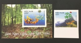 Vietnam Viet Nam MNH Imperf Stamp & Souvenir Sheet 2017 : Ngoc Linh Ginseng (Ms1078) - Vietnam