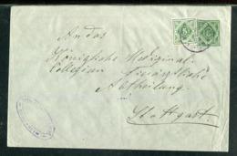 Wuerttemberg / Ganzsachenumschlag Mit Bildgleicher Zusatzfrankatur O (24560) - Wurtemberg