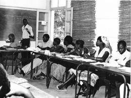 Photo Haute Volta 1980. Bobo Dioulasso Réunion D'échanges CESAO. Photo Du Père Gust Beeckmans - Africa