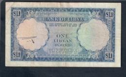 Libia Libya 1 Pound 1963   LOTTO 2808 - Libya