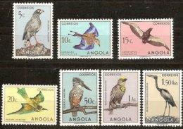Angola 1951 Yvertn° 328-334 ***  MNH Cote 4,20 € Faune Oiseaux Vogels Birds  Part D' Une Série Courante - Autres