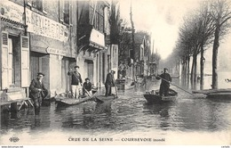 92-COURBEVOIE-CRUE DE LA SEINE-N°296-G/0171 - Courbevoie