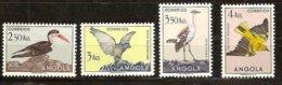 Angola 1951 Yvertn° 336-339 ***  MNH Cote 5,05 € Faune Oiseaux Vogels Birds  Part D' Une Série Courante - Autres